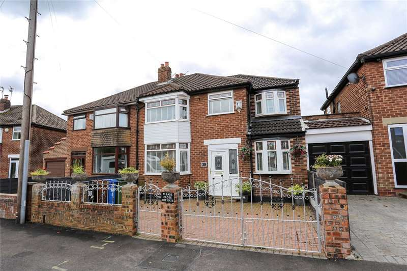 4 Bedrooms Semi Detached House for sale in Mayfield Grove, South Reddish, Stockport, SK5
