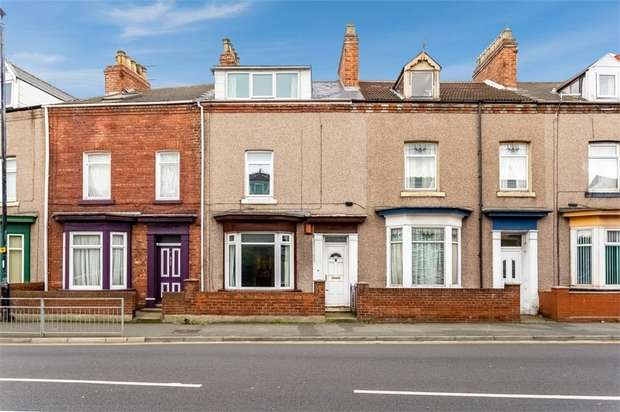3 Bedrooms Terraced House for sale in Stockton Road, Hartlepool, Durham