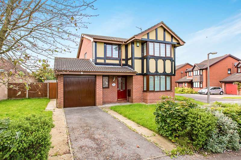 4 Bedrooms Detached House for sale in Lincoln Chase, Lea, Preston, PR2