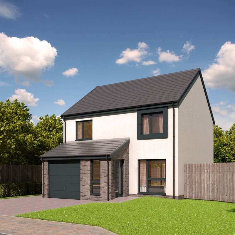 3 Bedrooms Detached House for sale in The Finlayson - Plot 37, Devongrange, Sauchie, Alloa,Clackmannanshire, FK10