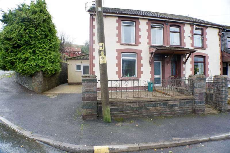 3 Bedrooms End Of Terrace House for sale in Bwllfa Cottages, Pentre