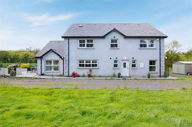 5 Bedrooms Detached House for sale in Moybane Road, Drumageever, Letterbreen, Enniskillen, County Fermanagh