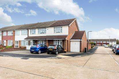 4 Bedrooms End Of Terrace House for sale in Hornchurch, Havering, Greater London