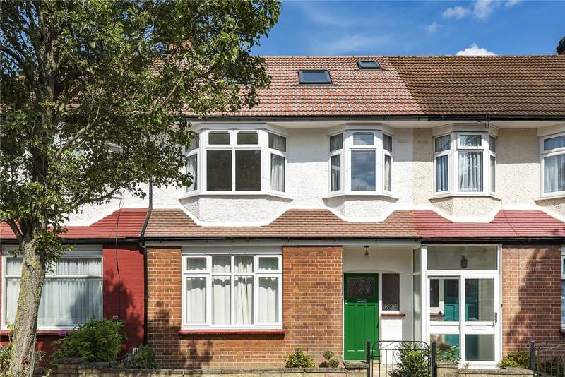 4 Bedrooms Terraced House for sale in Princes Avenue, Palmers Green, London, N13