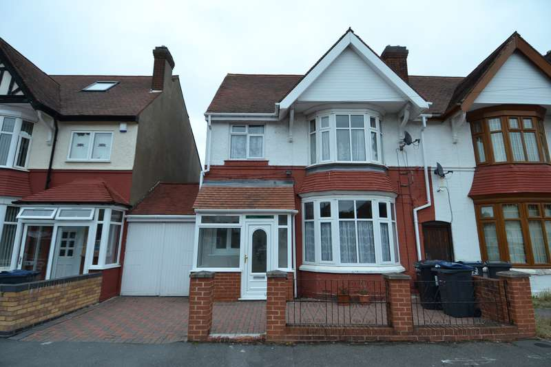 5 Bedrooms Semi Detached House for sale in Phipson Road, Sparkhill, Birmingham, B11