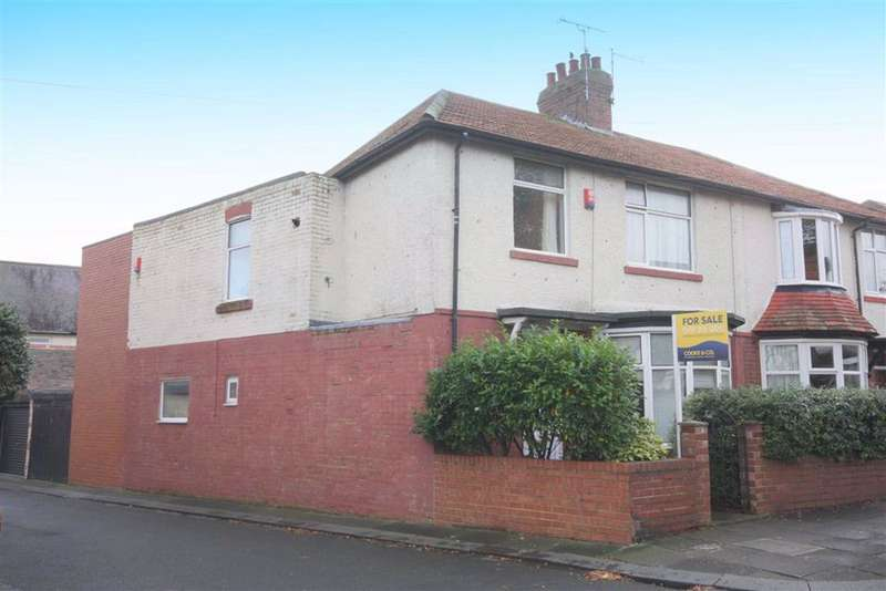 4 Bedrooms Semi Detached House for sale in Davison Avenue, Whitley Bay, NE26