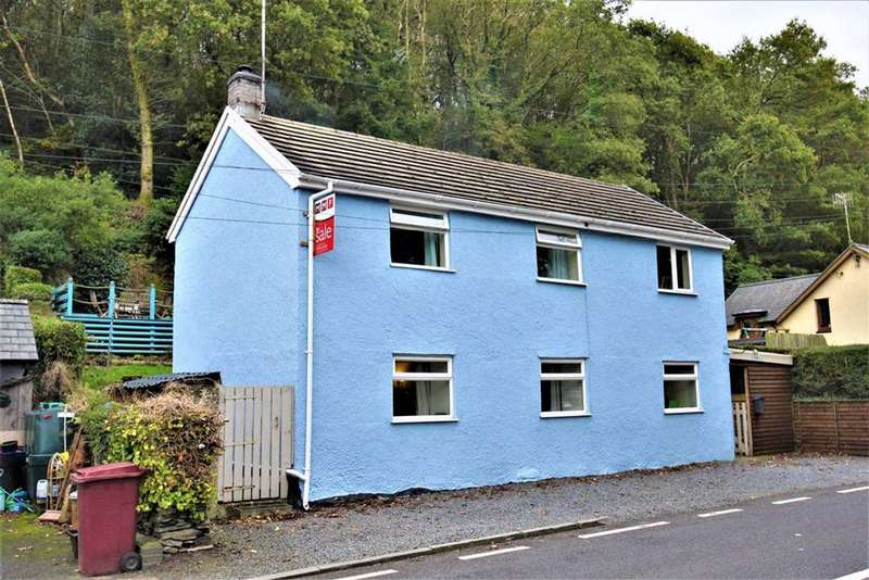 2 Bedrooms Detached House for sale in Eglwys Fach, Machynlleth