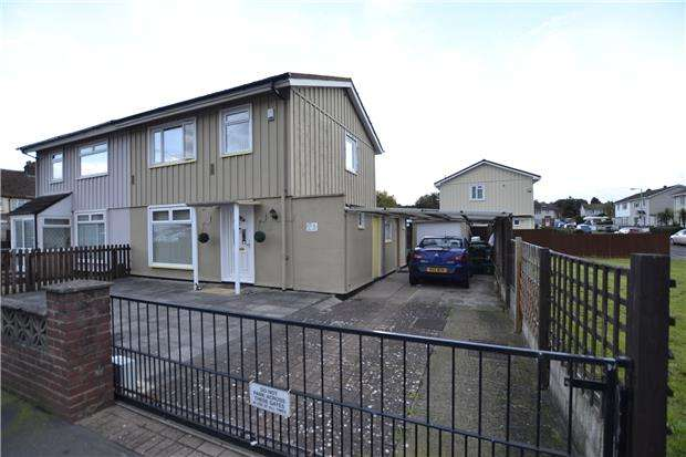 3 Bedrooms Semi Detached House for sale in West Town Road, BRISTOL, BS11 9NW