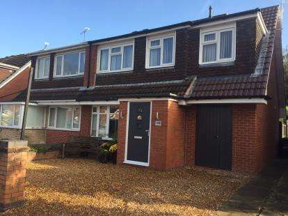 3 Bedrooms Semi Detached House for sale in Lansdowne Road, Crewe, Cheshire