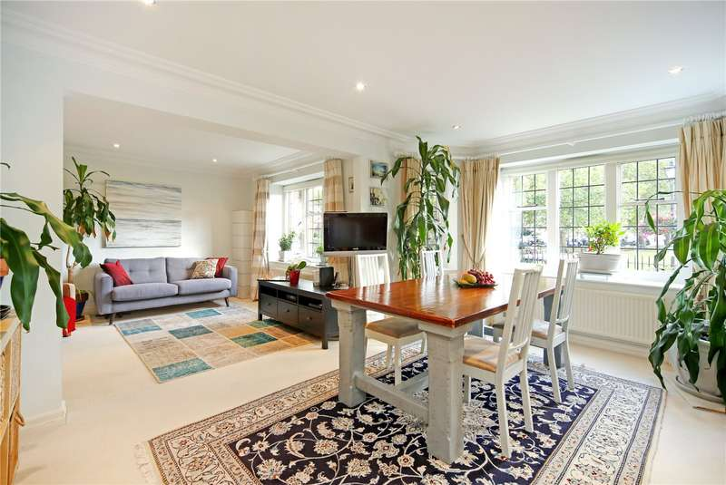3 Bedrooms Flat for sale in Fitzwilliam House, Little Green, Richmond, TW9