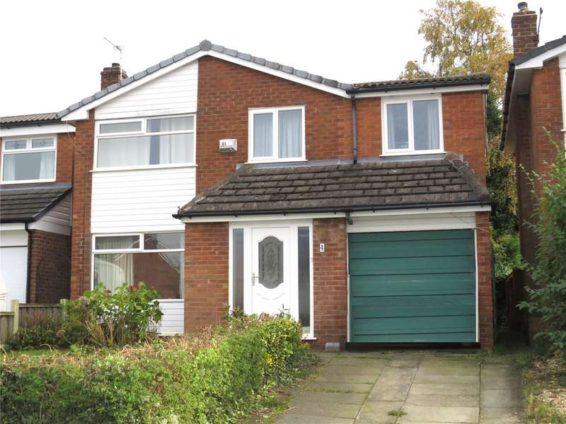 4 Bedrooms Detached House for sale in Hawkstone Close, Bolton, Lancashire, BL2