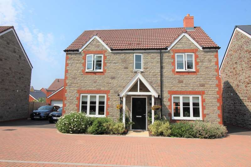 4 Bedrooms Detached House for sale in Badger Road, Thornbury, BS35 1AB