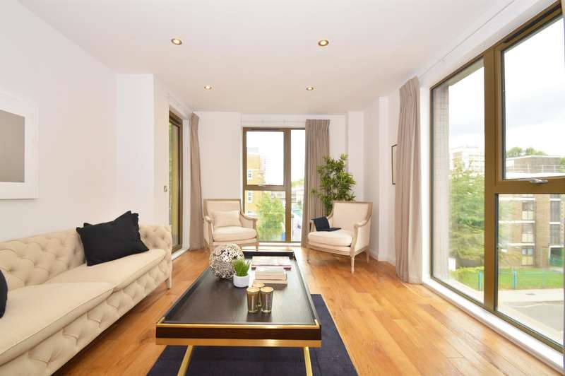 3 Bedrooms Apartment Flat for sale in Crondall Street, London, N1 6JQ