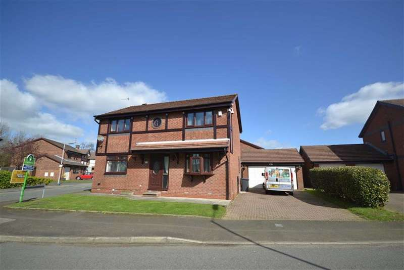 4 Bedrooms Detached House for sale in Greenbank Road, Radcliffe, Manchester, M26