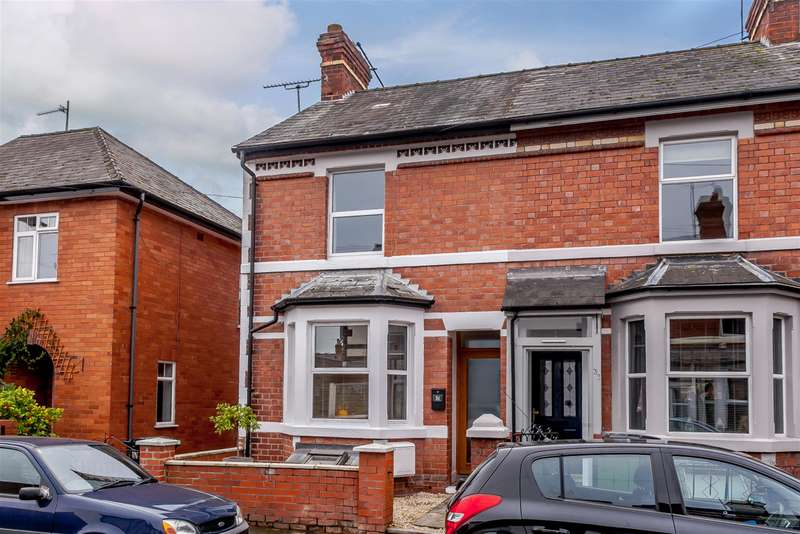 2 Bedrooms End Of Terrace House for sale in 31 Cornewall Street, Whitecross, Hereford, HR4 0HE