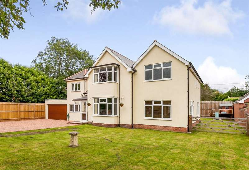 4 Bedrooms Detached House for sale in Sunville, Conifer Walk , Kings Acre, Hereford, HR4 0SW