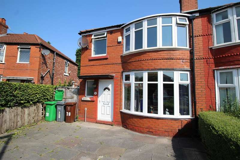 3 Bedrooms Semi Detached House for sale in Colgate Crescent, Manchester, M14 6FN