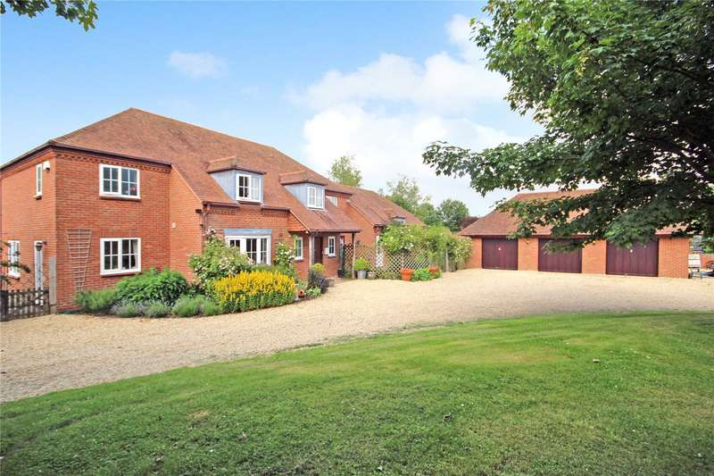 5 Bedrooms Detached House for sale in Bridleways, Winterbourne Bassett, Swindon, Wilts, SN4