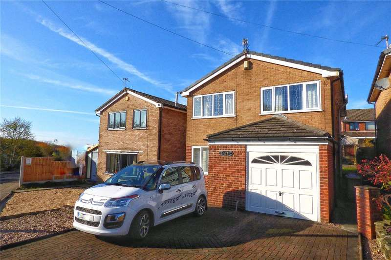 4 Bedrooms Detached House for sale in Leander Drive, Castleton, Rochdale, Greater Manchester, OL11