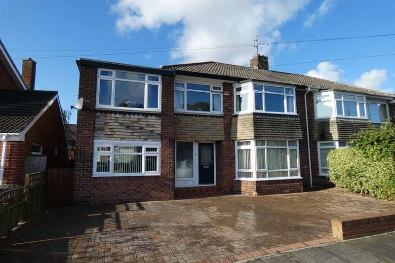 4 Bedrooms Semi Detached House for sale in Glamis Avenue, Newcastle Upon Tyne, NE3