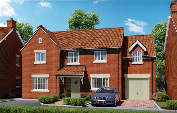 4 Bedrooms Detached House for sale in The Ryeford, Harford Place, Rangeworthy, BRISTOL, BS37 7LZ