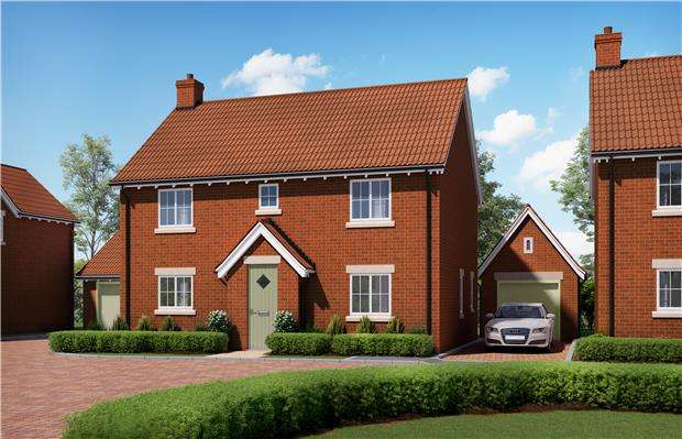 4 Bedrooms Detached House for sale in The Dyrham, Harford Place, Rangeworthy, BRISTOL, BS37 7LZ