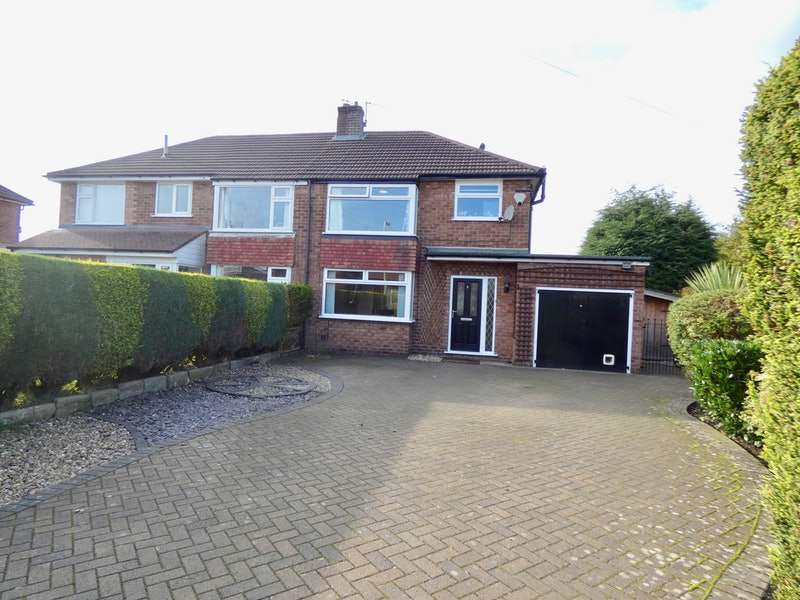 3 Bedrooms Semi Detached House for sale in Balmoral Grove, Stockport, Greater Manchester, SK7