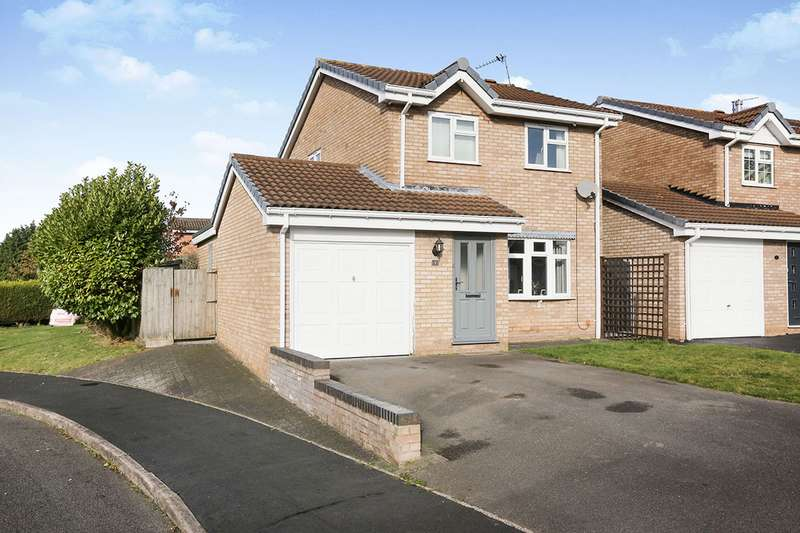 3 Bedrooms Detached House for sale in Broughton Court, Perton, Wolverhampton, Staffordshire, WV6