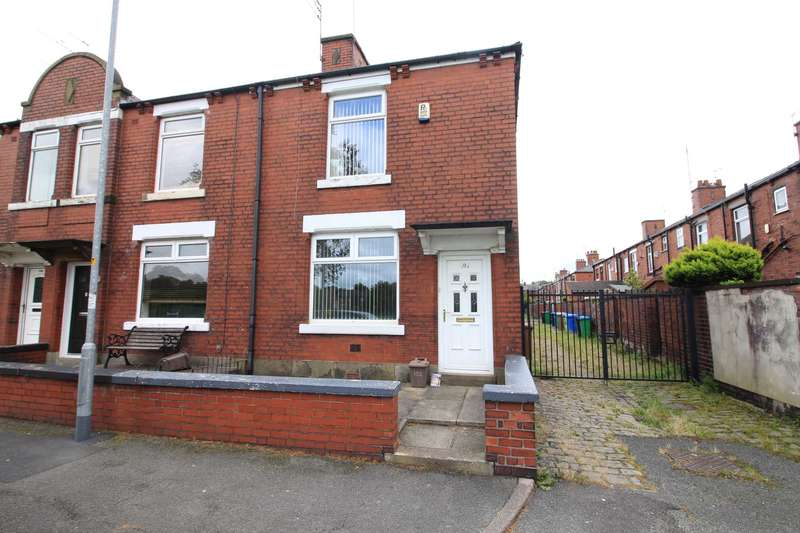 2 Bedrooms End Of Terrace House for sale in Churchill Street, Rochdale