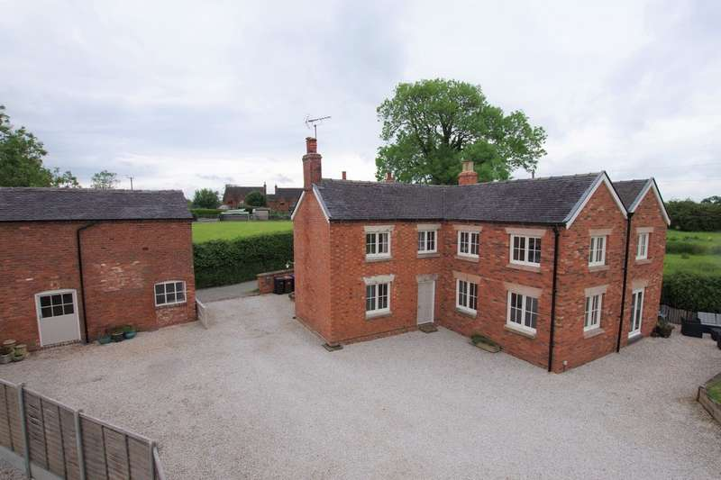 4 Bedrooms Detached House for sale in Duck Paddle Farm, Farm Lane, Withington