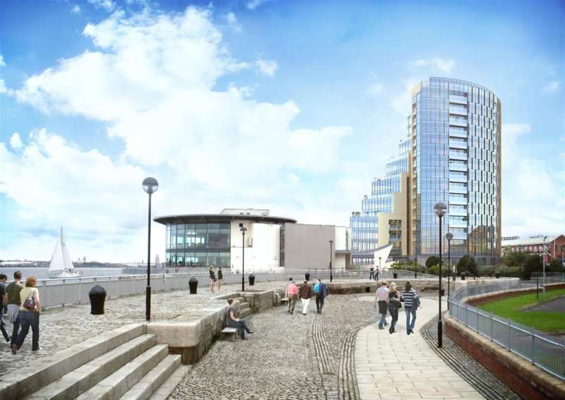 3 Bedrooms Apartment Flat for sale in Herculaneum Quay, Riverside Drive, Liverpool, L3 4DB