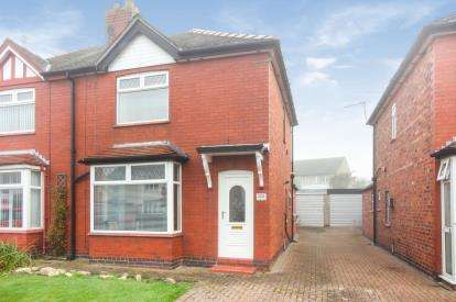 2 Bedrooms Semi Detached House for sale in Crook Lane, Winsford, Cheshire