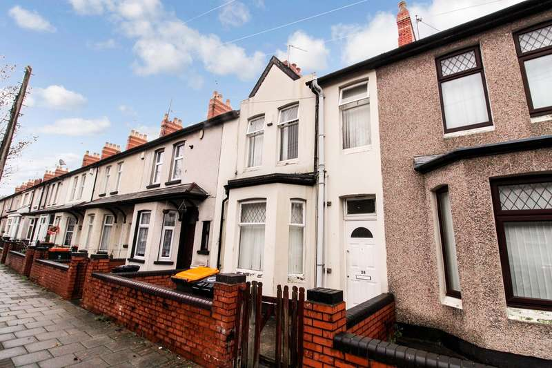 3 Bedrooms Terraced House for sale in Vivian Road, Newport, NP19