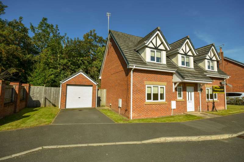 4 Bedrooms Detached House for sale in SHIRLEY CLOSE, HAZEL GROVE, SK7 5AX