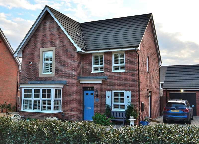 4 Bedrooms Detached House for sale in Claudius Way, Fairfields