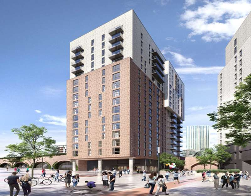 3 Bedrooms Apartment Flat for sale in Embankment West, Manchester, M3