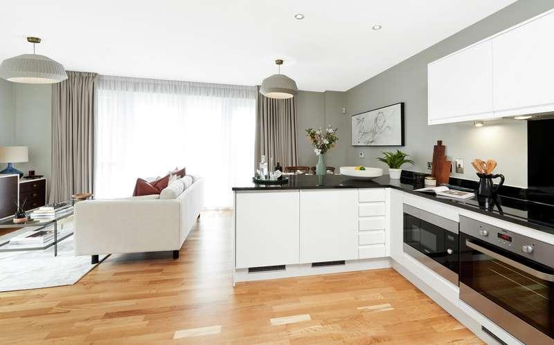 2 Bedrooms Property for sale in Modern Thameside life