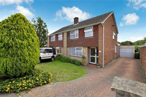 3 Bedrooms Semi Detached House for sale in Hilton Way, Sible Hedingham, Essex