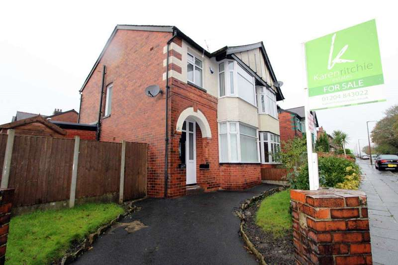 3 Bedrooms Semi Detached House for sale in Devonshire Road, Bolton