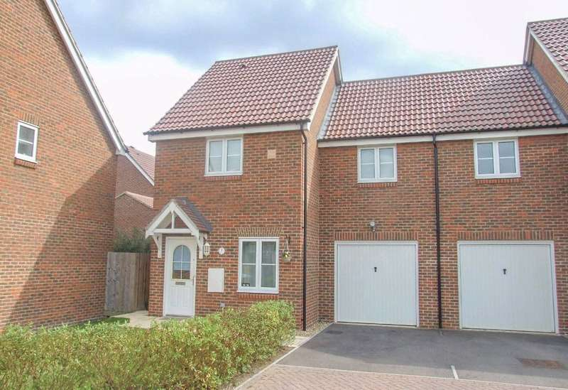 3 Bedrooms Semi Detached House for rent in Jersey Drive, Winnersh, Wokingham, Berkshire, RG41