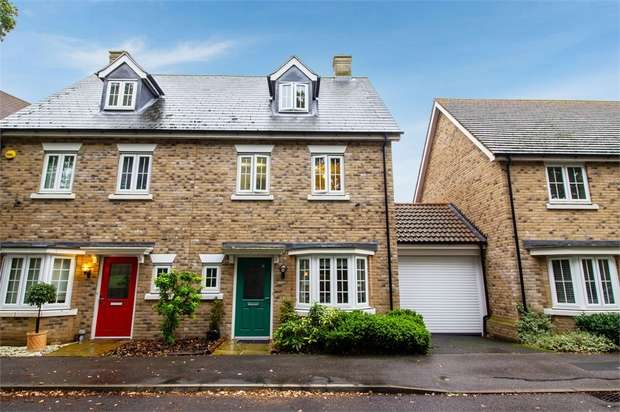 4 Bedrooms Semi Detached House for sale in Apprentice Drive, Colchester, Essex