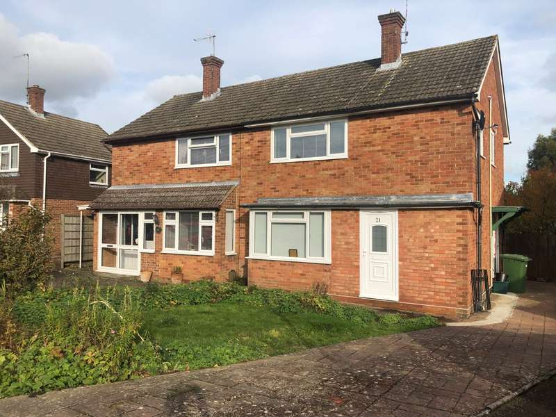 3 Bedrooms Semi Detached House for sale in Highfield Close, Pembury, Tunbridge Wells, Kent, TN2