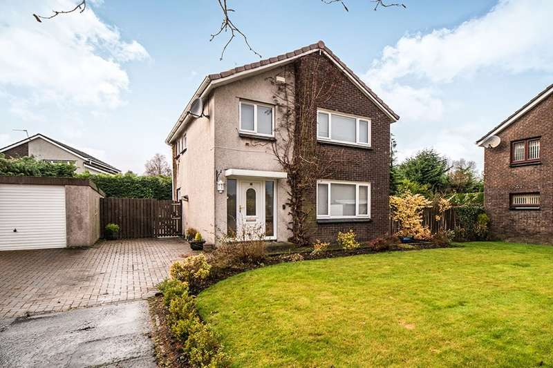 3 Bedrooms Detached House for sale in Drumpellier Court, Cumbernauld, Glasgow, G67