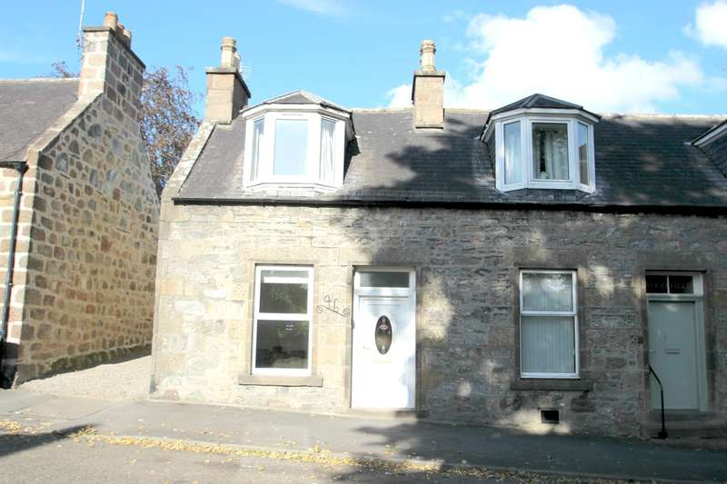 2 Bedrooms End Of Terrace House for sale in Fife Street, Dufftown, Keith, AB55