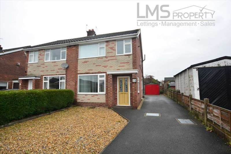 3 Bedrooms Semi Detached House for sale in Rutland Drive, Middlewich
