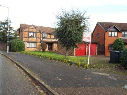 4 Bedrooms Detached House for sale in Copthorne, Luton, Bedfordshire