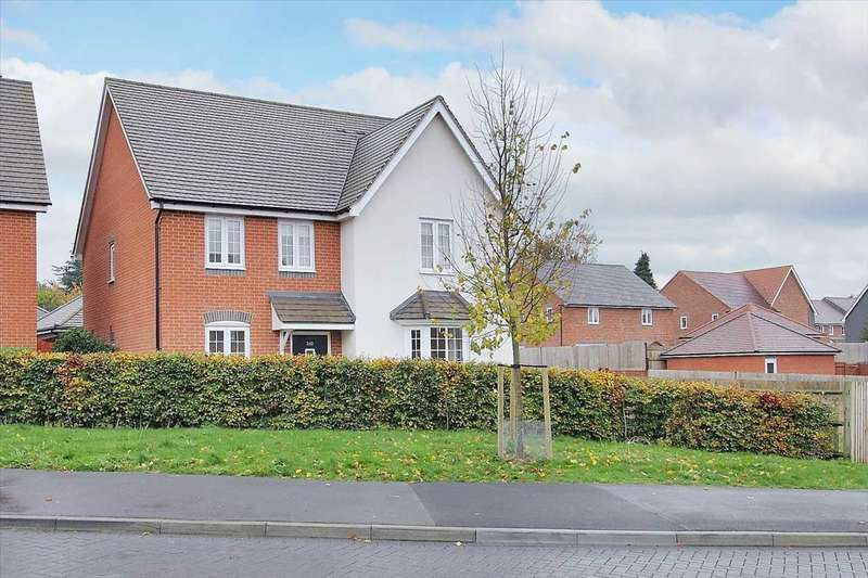 4 Bedrooms Detached House for sale in Locksbridge Road, Andover