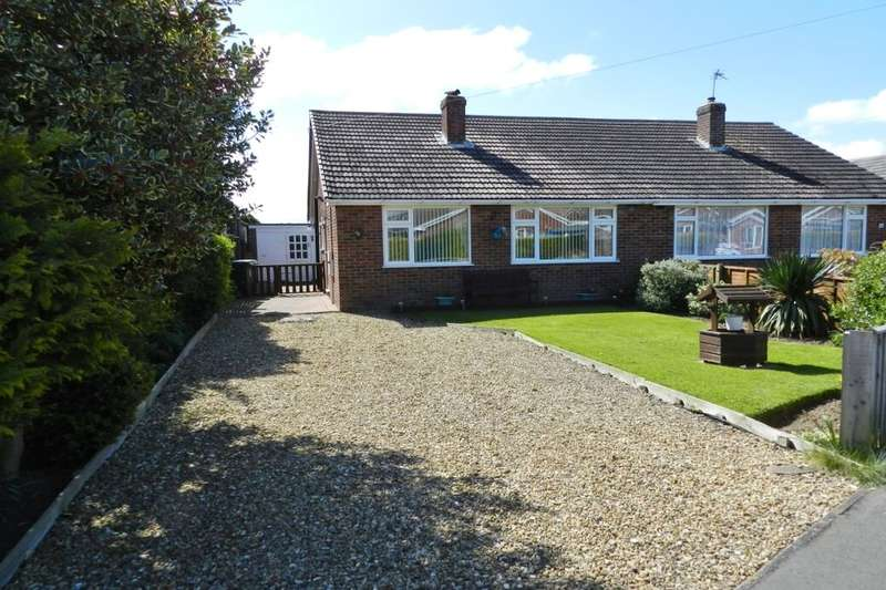 2 Bedrooms Semi Detached Bungalow for sale in Marine Avenue, Sutton-On-Sea, Mablethorpe, LN12