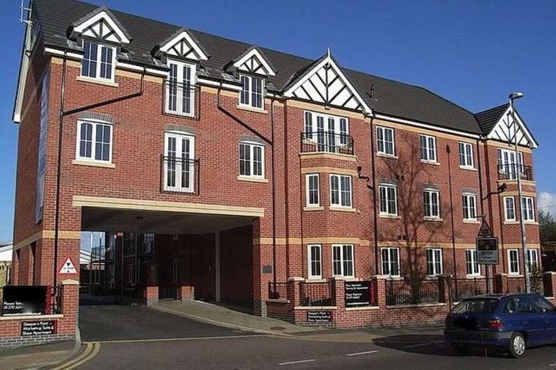 2 Bedrooms Flat for sale in Pillory Street, Nantwich, CW5