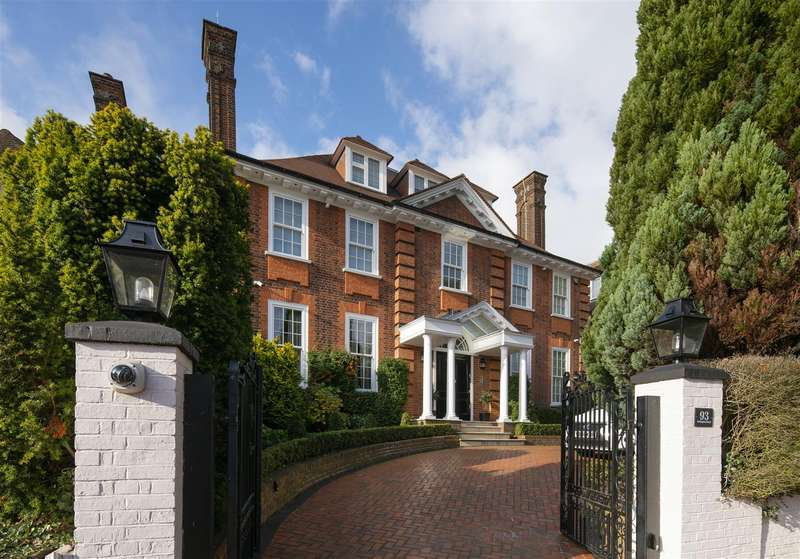 7 Bedrooms House for sale in Redington Road, Hampstead NW3